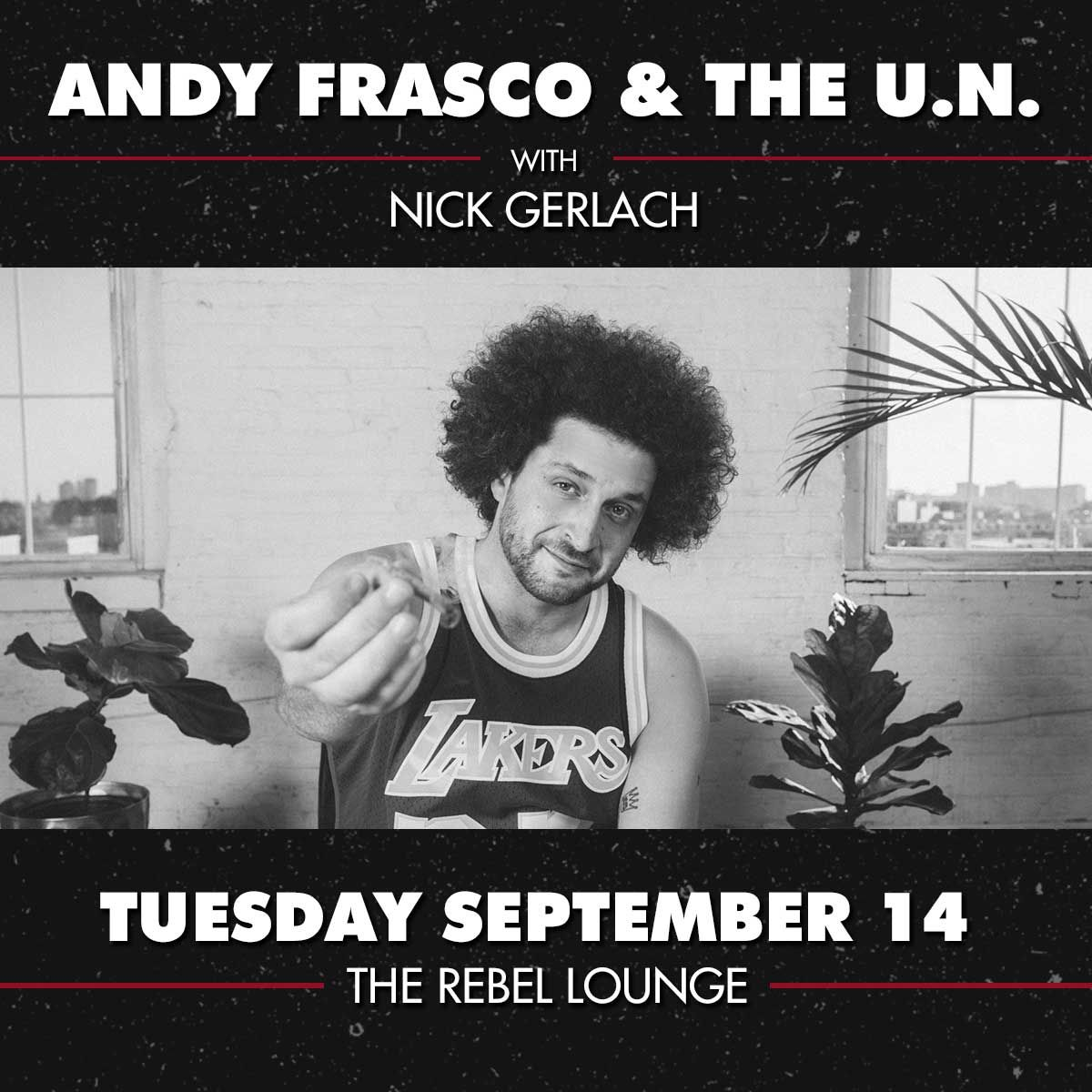 ANDY FRASCO & THE U.N.:
