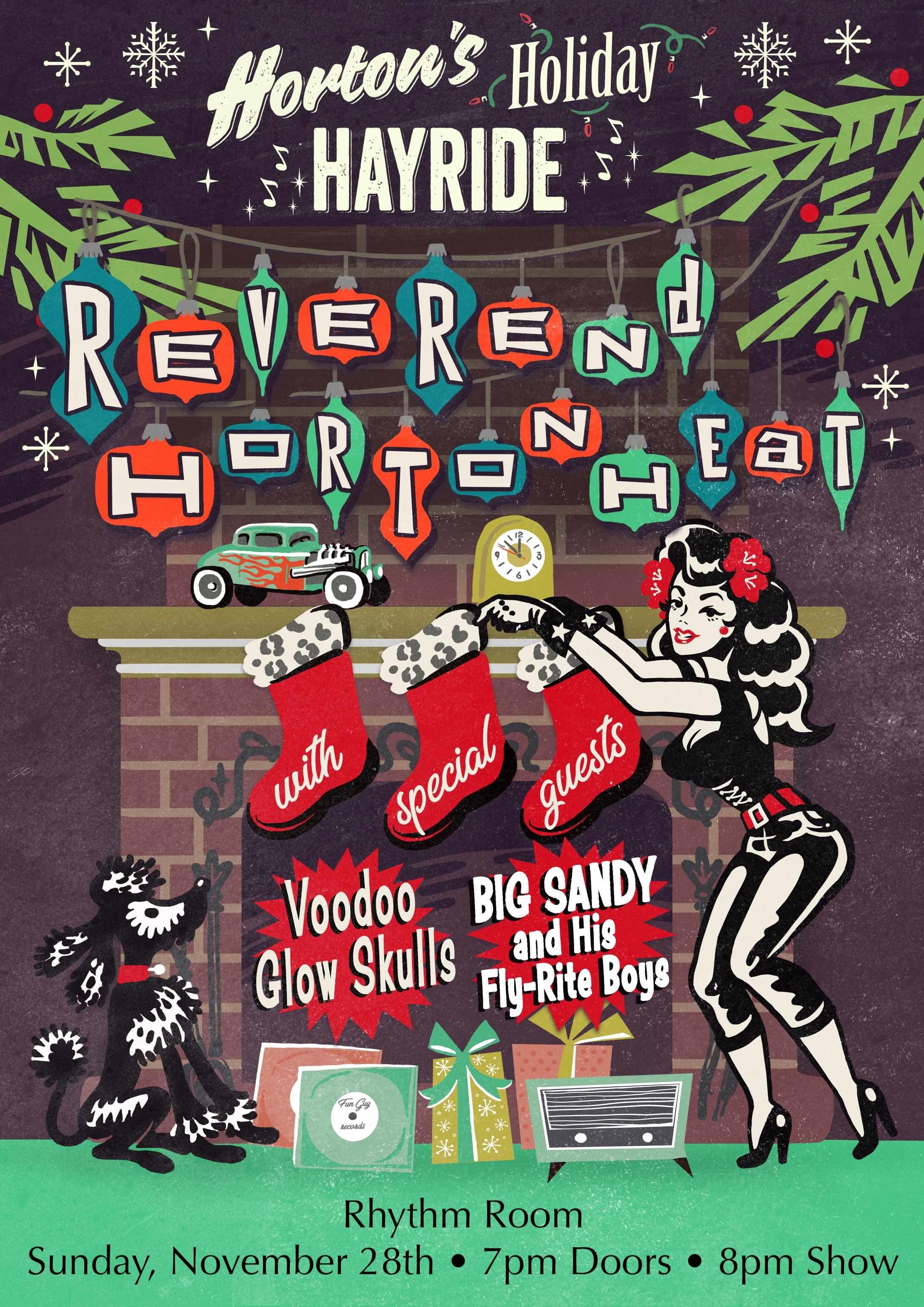 Horton's Holiday Hayride w/ Reverend Horton Heat: