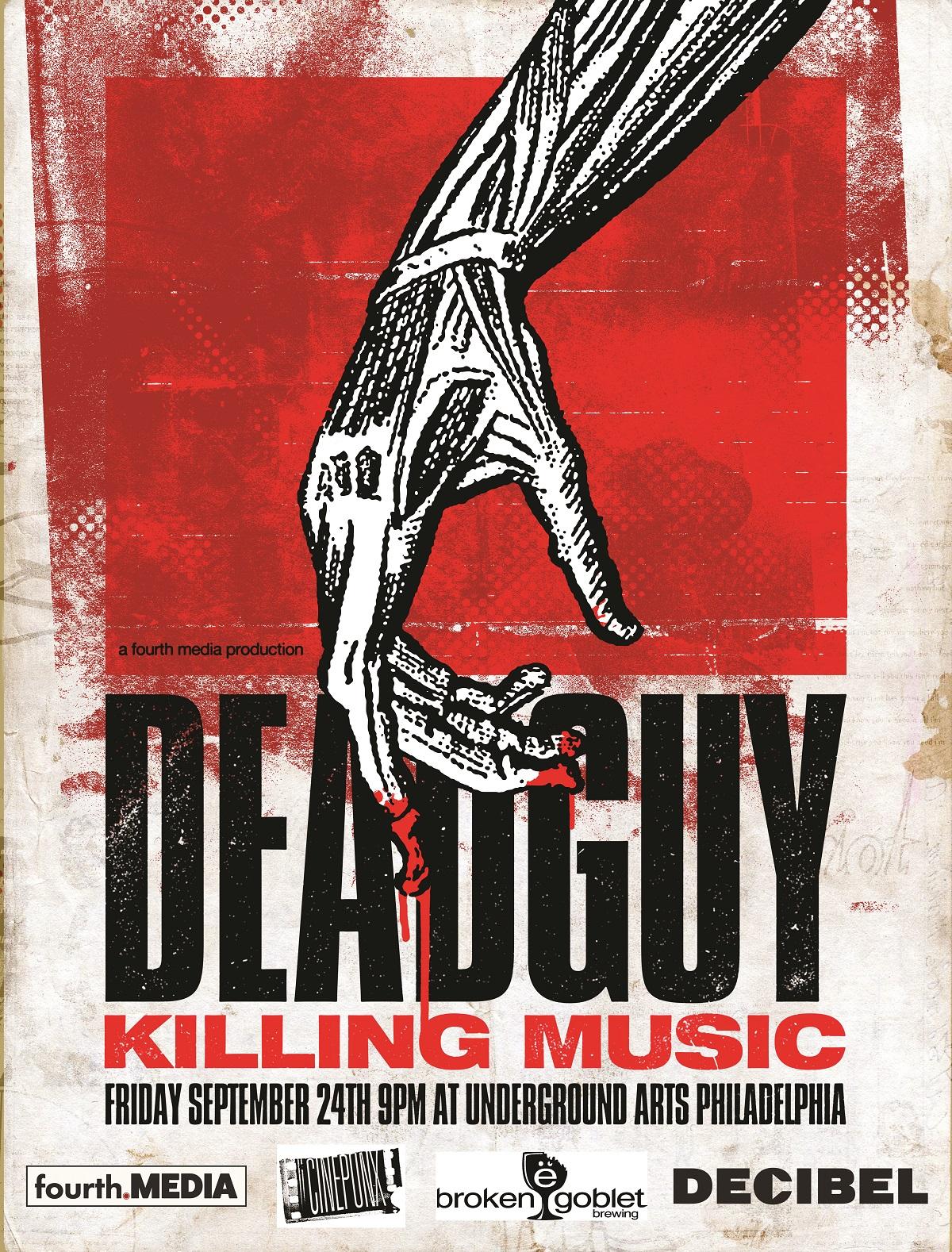 Cinepunx Presents:  Deadguy: Killing Music Documentary: