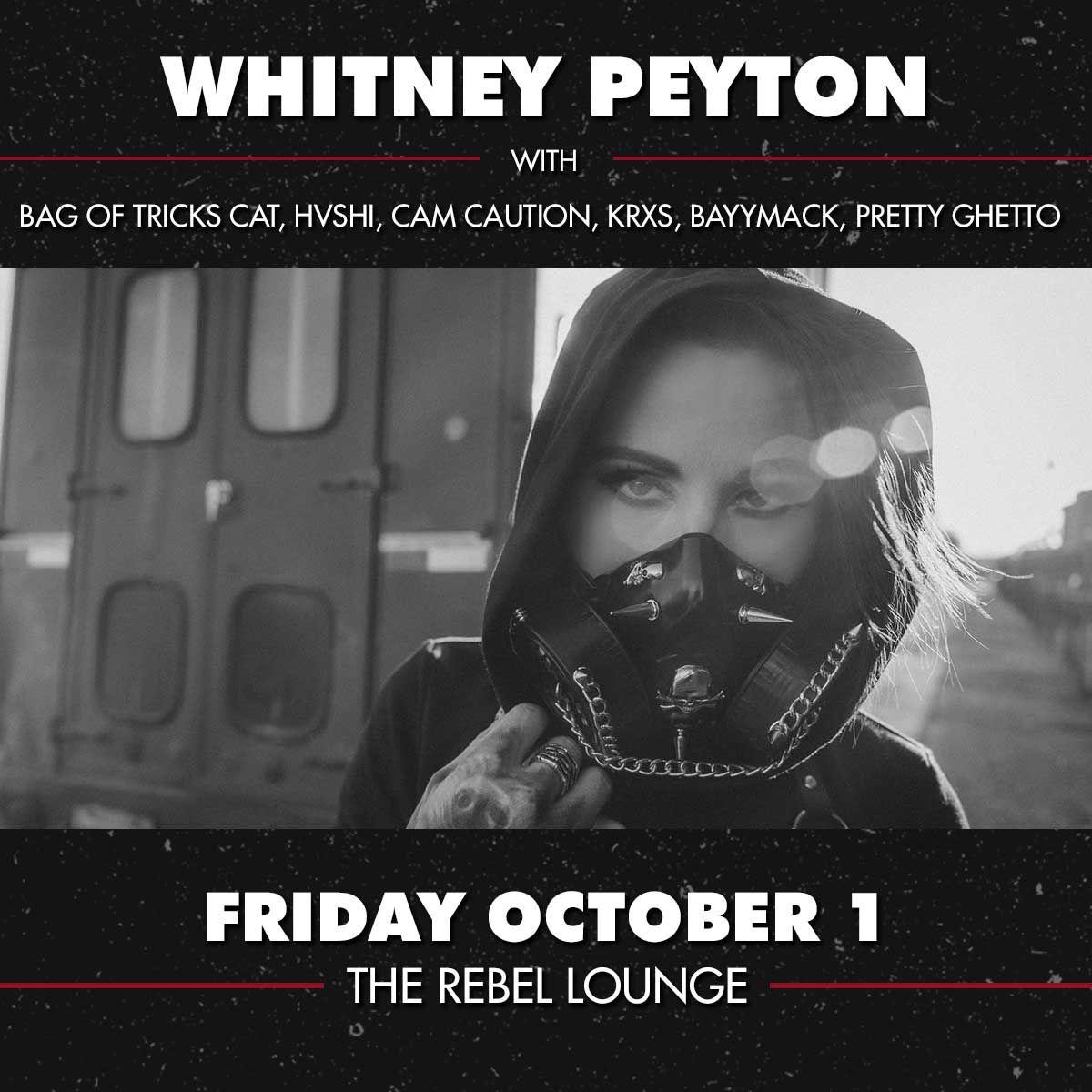 WHITNEY PEYTON: